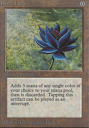 image of card Black Lotus