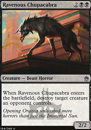 image of card Ravenous Chupacabra