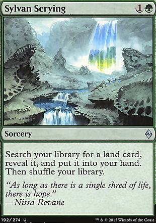 image of card Sylvan Scrying