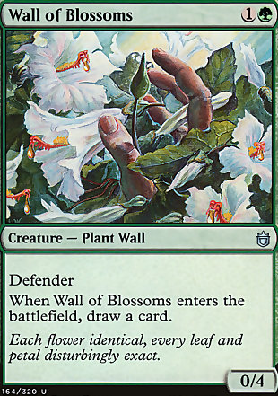 image of card Wall of Blossoms