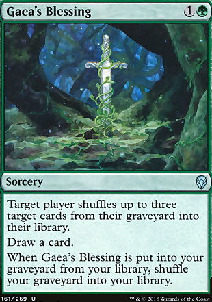 image of card Gaea's Blessing