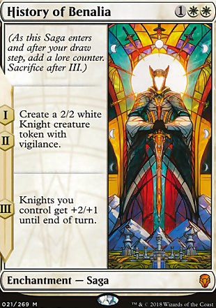 image of card History of Benalia
