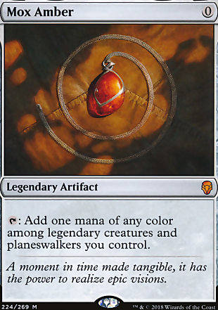 image of card Mox Amber
