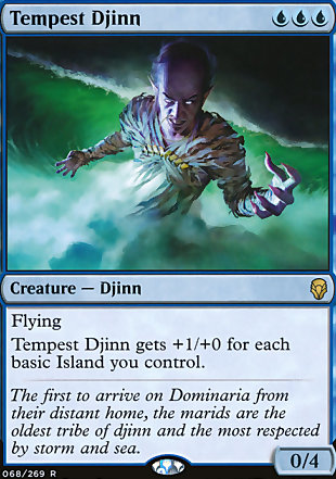 image of card Tempest Djinn