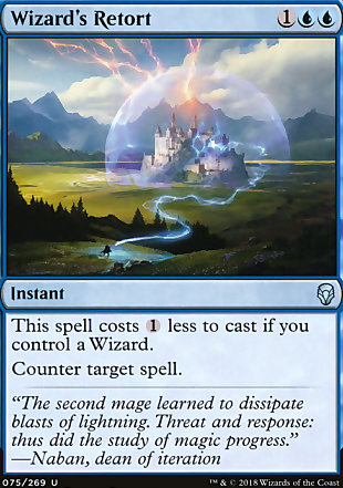 image of card Wizard's Retort