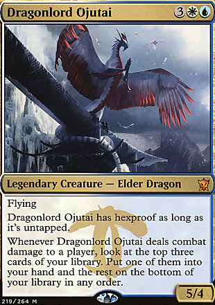 image of card Dragonlord Ojutai