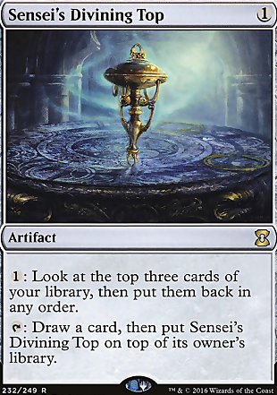 image of card Sensei's Divining Top