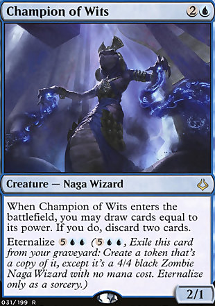 image of card Champion of Wits
