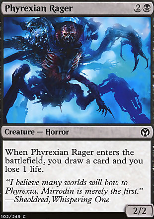 image of card Phyrexian Rager