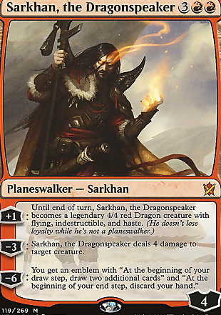 image of card Sarkhan, the Dragonspeaker