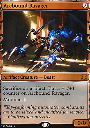 image of card Arcbound Ravager