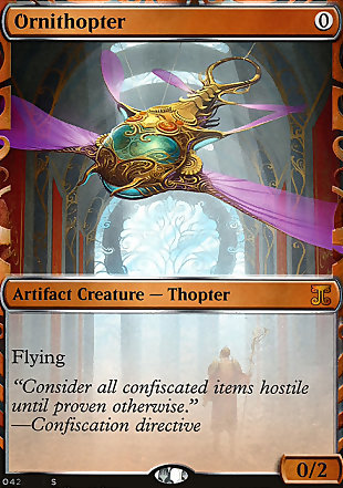 image of card Ornithopter