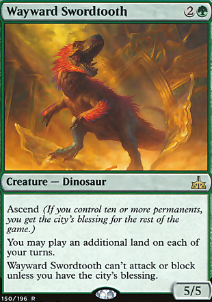 image of card Wayward Swordtooth
