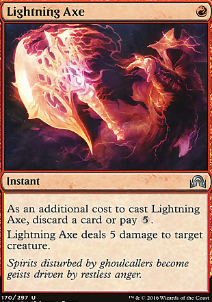 image of card Lightning Axe