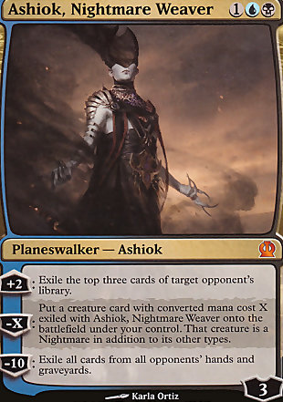 image of card Ashiok, Nightmare Weaver