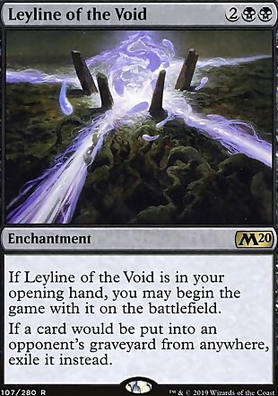 image of card Leyline of the Void