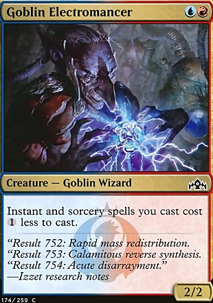 image of card Goblin Electromancer