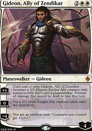 image of card Gideon, Ally of Zendikar