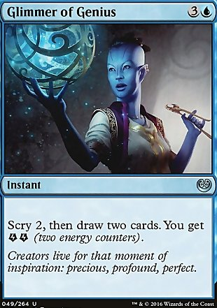 image of card Glimmer of Genius