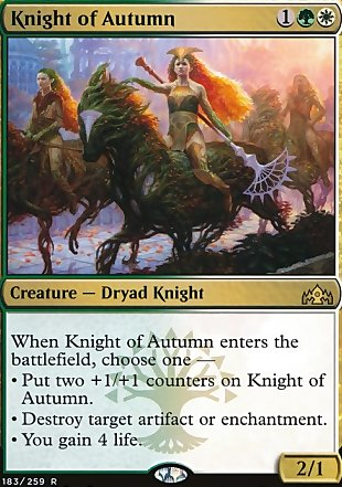 image of card Knight of Autumn