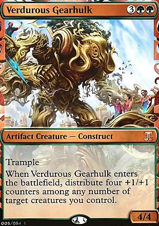 image of card Verdurous Gearhulk