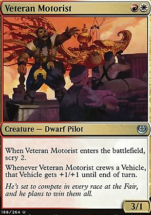 image of card Veteran Motorist