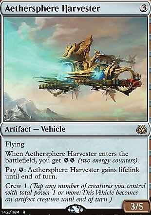 image of card Aethersphere Harvester