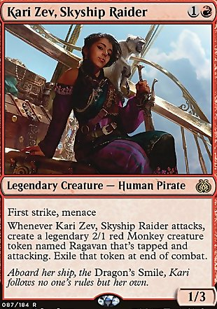 image of card Kari Zev, Skyship Raider