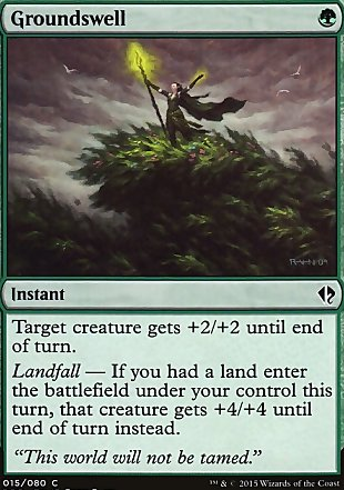 image of card Groundswell