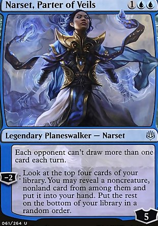 image of card Narset, Parter of Veils