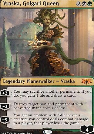 image of card Vraska, Golgari Queen
