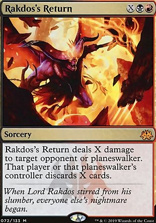 image of card Rakdos's Return