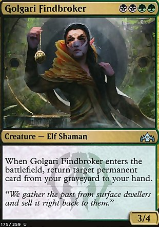 image of card Golgari Findbroker