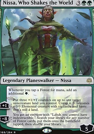 image of card Nissa, Who Shakes the World