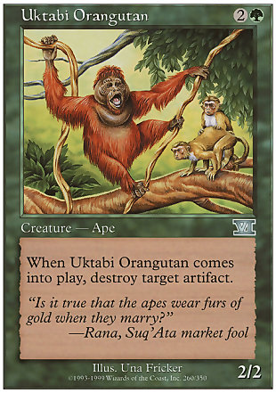 image of card Uktabi Orangutan