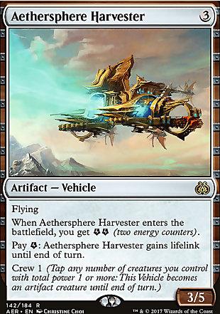 image of card Aethersphere Harvester