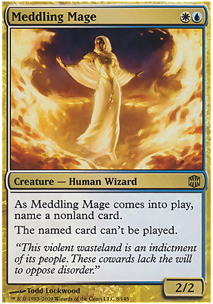 image of card Meddling Mage