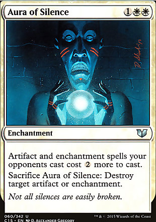image of card Aura of Silence