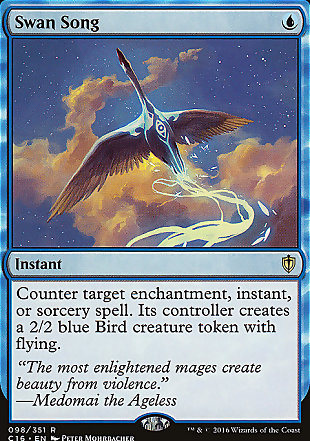 image of card Swan Song