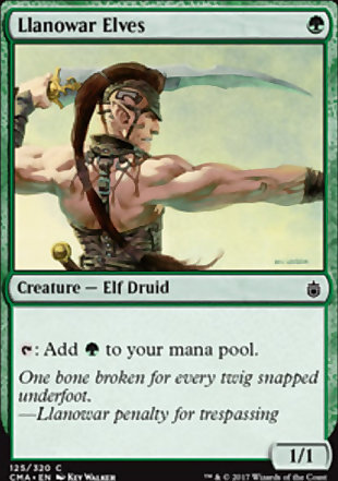 image of card Llanowar Elves