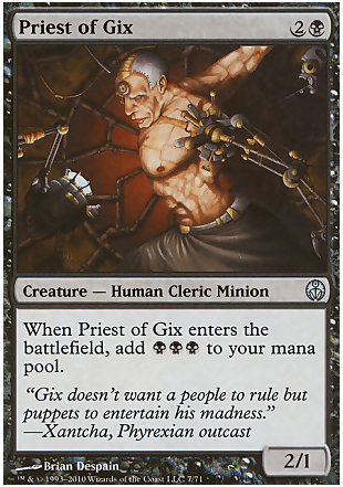 image of card Priest of Gix
