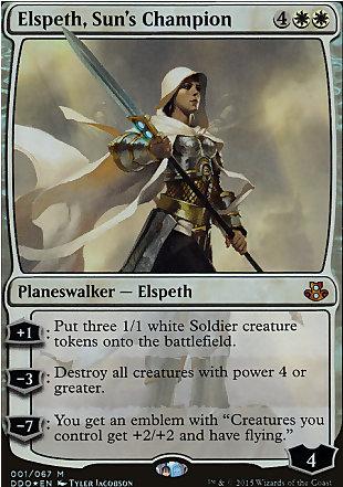 image of card Elspeth, Sun's Champion