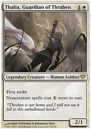 image of card Thalia, Guardian of Thraben