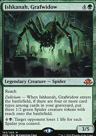 image of card Ishkanah, Grafwidow