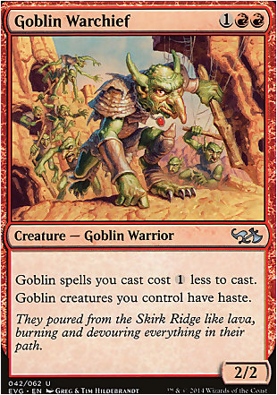 image of card Goblin Warchief