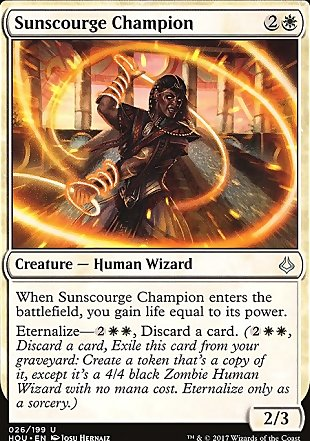 image of card Sunscourge Champion