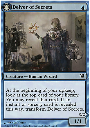image of card Delver of Secrets