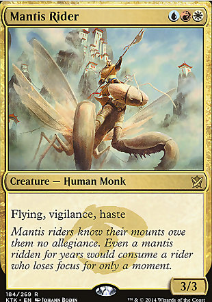 image of card Mantis Rider