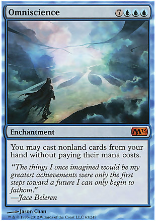 image of card Omniscience