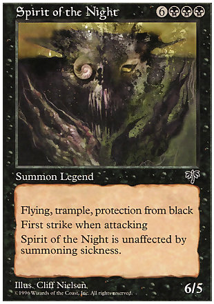 image of card Spirit of the Night